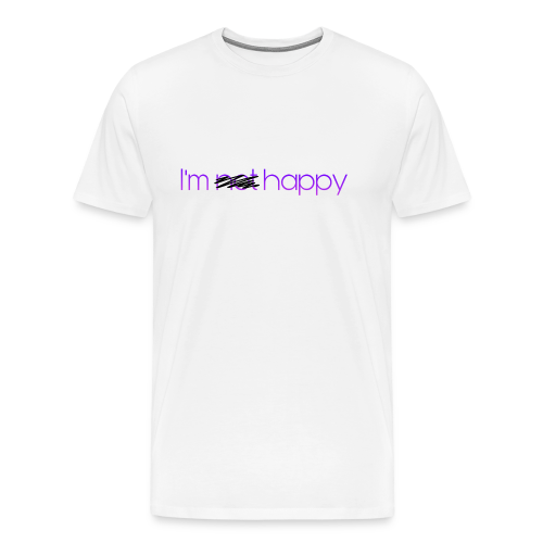 I'm happy - Men's Premium T-Shirt