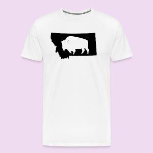 Montana Bison - Men's Premium T-Shirt