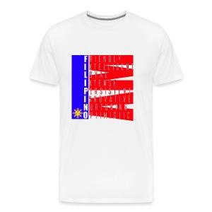 I AM FILIPINO colored - Men's Premium T-Shirt