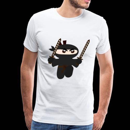 ninja fighter - Men's Premium T-Shirt