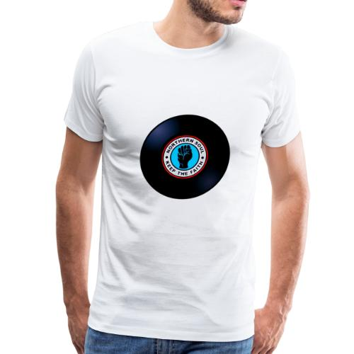 vinyl nothern soul keep faith - Men's Premium T-Shirt