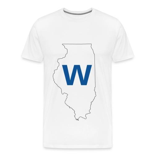 Cubs WIN! - Men's Premium T-Shirt