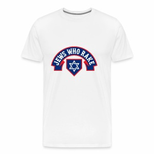 Jews Who Rake - The Red Lox - Men's Premium T-Shirt