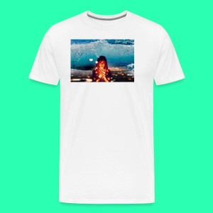 Girl Wave - Men's Premium T-Shirt