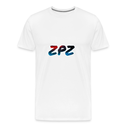 ZPZ GALEXY LOGO - Men's Premium T-Shirt