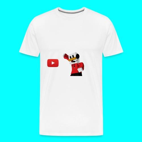 Protector para samsung (MauroDuck-YouTube) - Men's Premium T-Shirt