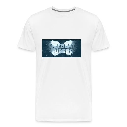 offbeat tubers logo - Men's Premium T-Shirt