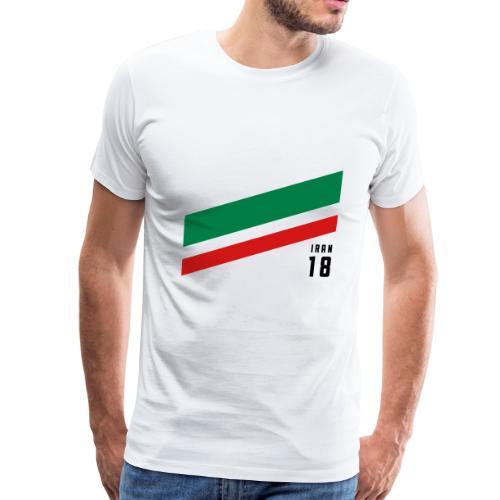 Iran Stipes - Men's Premium T-Shirt