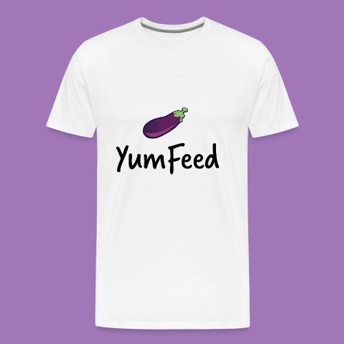 YumFeed logo - Men's Premium T-Shirt