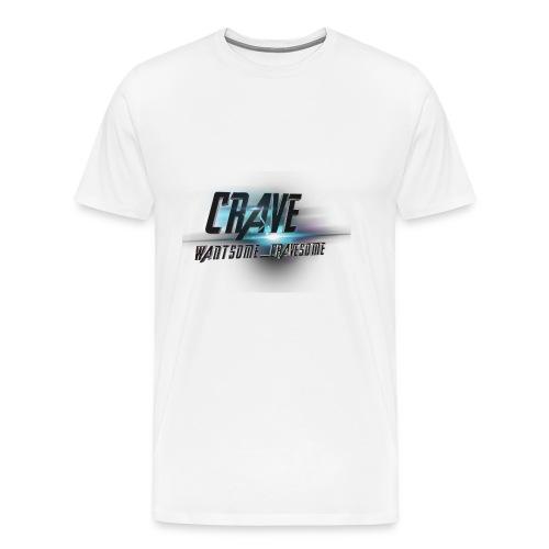 NEW_LOGO_CRAVE - Men's Premium T-Shirt
