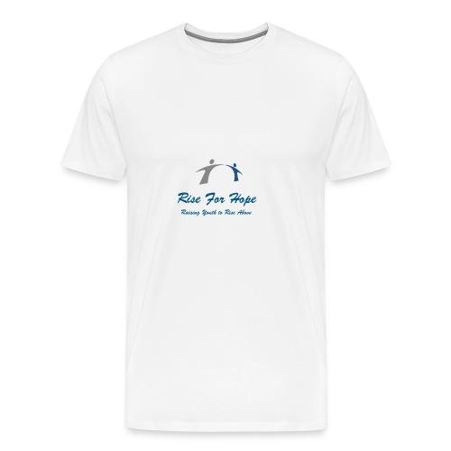 Rise for Hope - Men's Premium T-Shirt