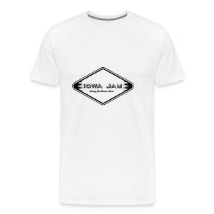 Iowa Jam Logo TM - Men's Premium T-Shirt