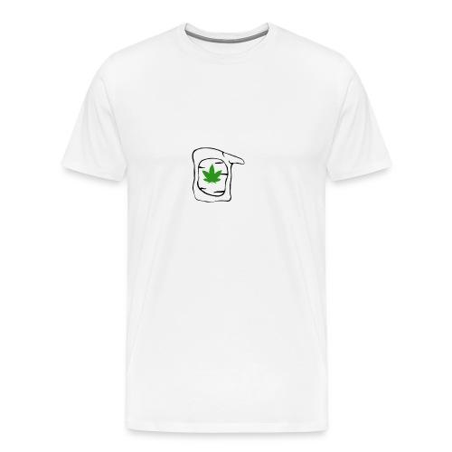 LEAF FACE - Men's Premium T-Shirt