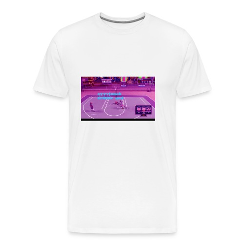 old channel thumbnail on anything - Men's Premium T-Shirt