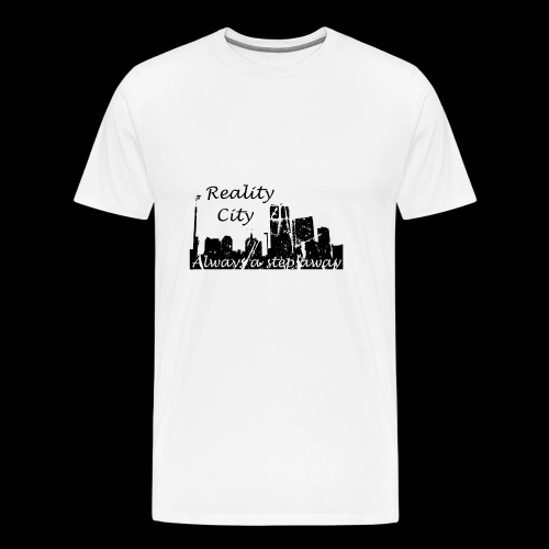Reality City - light - Men's Premium T-Shirt