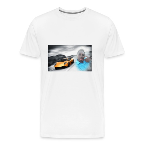 Hozayfa vlogs merch - Men's Premium T-Shirt