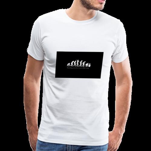Gamer evolution - Men's Premium T-Shirt
