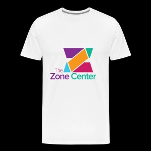 Zone Center T Shirt Logo MultiColor - Men's Premium T-Shirt
