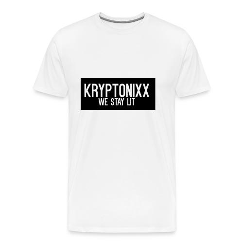 KryptLogoPng - Men's Premium T-Shirt