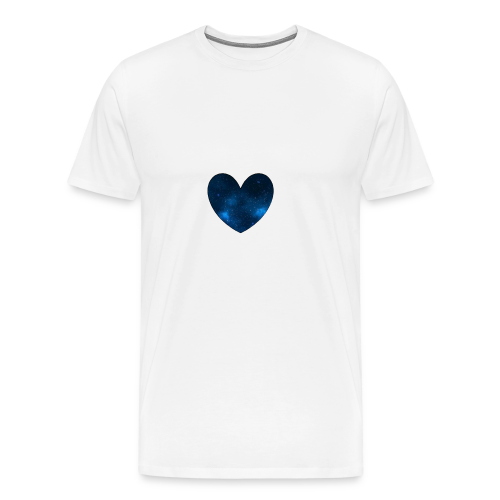 Galaxy Heart - Men's Premium T-Shirt