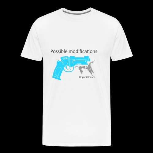 BR Blaster Possible modifications Unicorn - Men's Premium T-Shirt