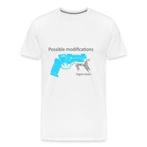 BR Blaster Possible modifications Unicorn - Men's Premium T-Shirt
