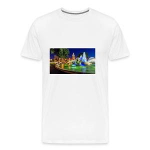 617816 jc nichols memorial fountain country club p - Men's Premium T-Shirt