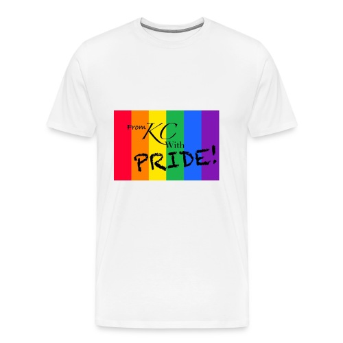 KC pride - Men's Premium T-Shirt