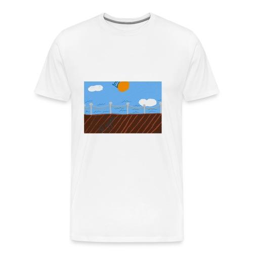 Royal waters - Men's Premium T-Shirt