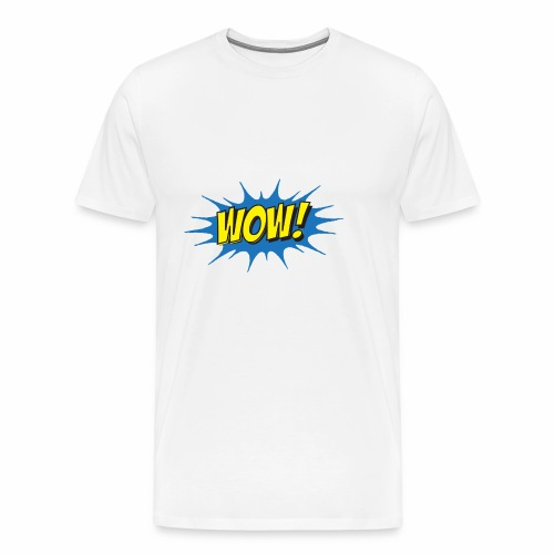 WOW! - Men's Premium T-Shirt