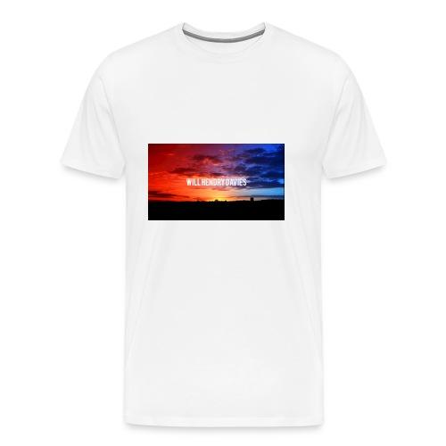 channel art youtube will hendry davies - Men's Premium T-Shirt