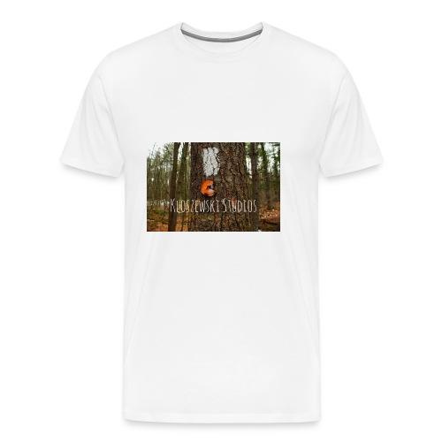 Back In Woods - Men's Premium T-Shirt