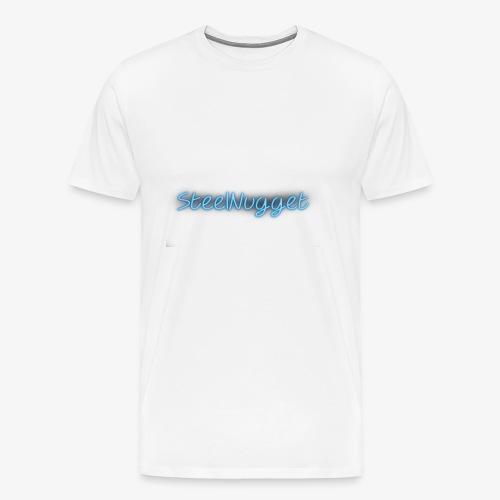 SteelNugget Neon - Men's Premium T-Shirt