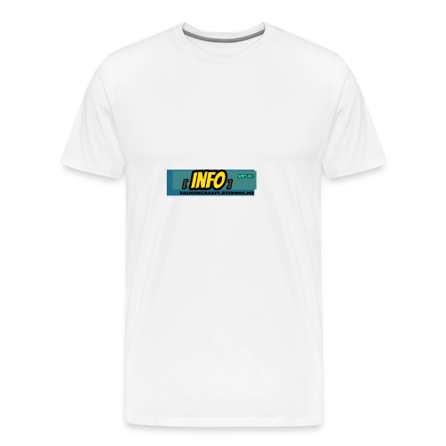 SalmonCraaft's info - Men's Premium T-Shirt