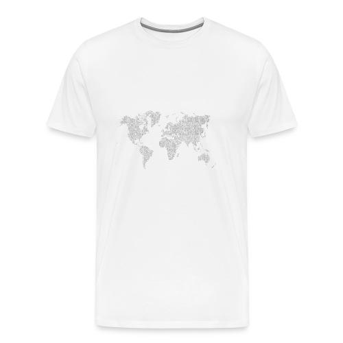 World - Men's Premium T-Shirt