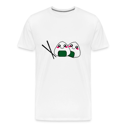 sushi addict - Men's Premium T-Shirt