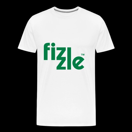 WearFizzle Logo Green - Men's Premium T-Shirt