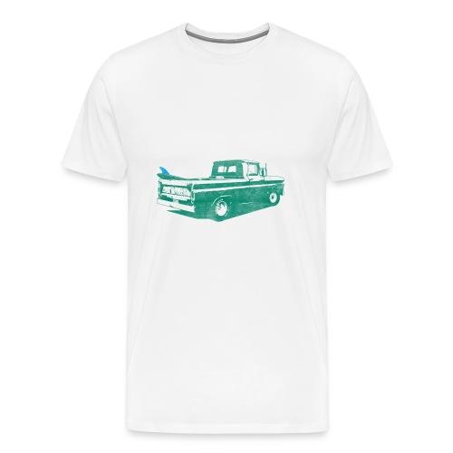 Vintage Surf Truck2 - Men's Premium T-Shirt