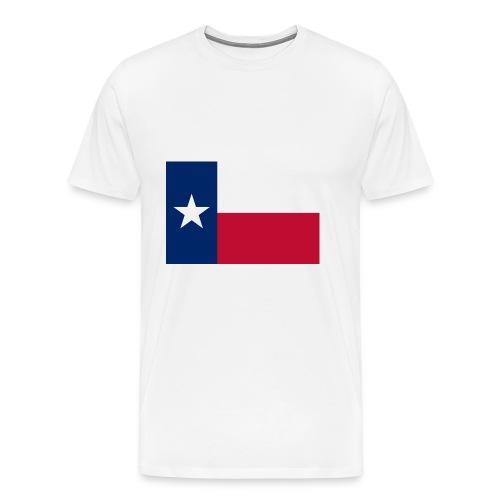 2000px Flag of Texas svg - Men's Premium T-Shirt