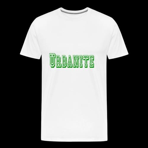 Urbanite football design - Men's Premium T-Shirt
