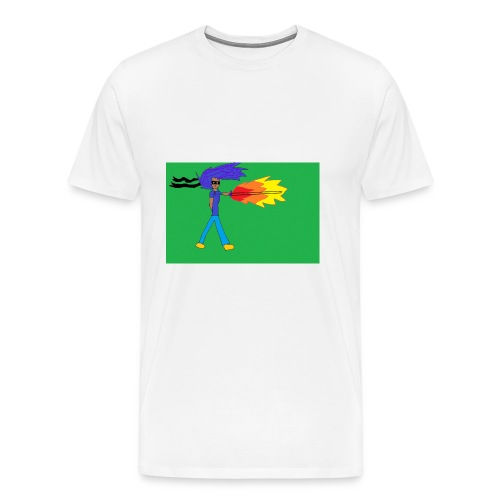 blazing_sky_katana - Men's Premium T-Shirt