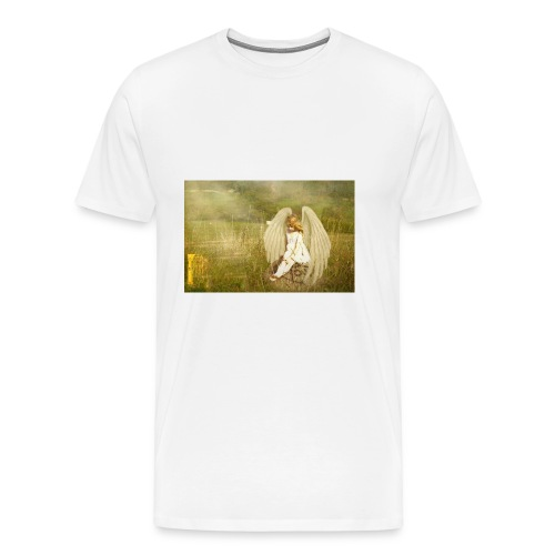 An Angel to Watch Over You - Men's Premium T-Shirt