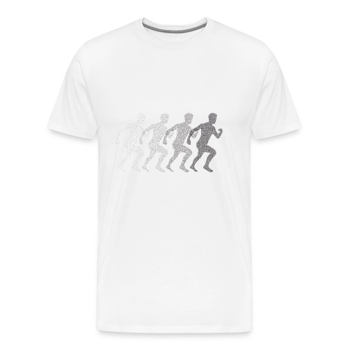 Running boy - Men's Premium T-Shirt