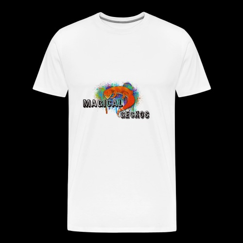 Magical Geckos Paint scheme - Men's Premium T-Shirt