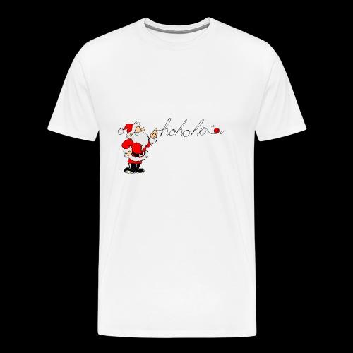 Santa Ho Ho Ho - Men's Premium T-Shirt