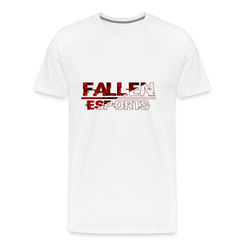 Fallen Esports Words Design - Men's Premium T-Shirt