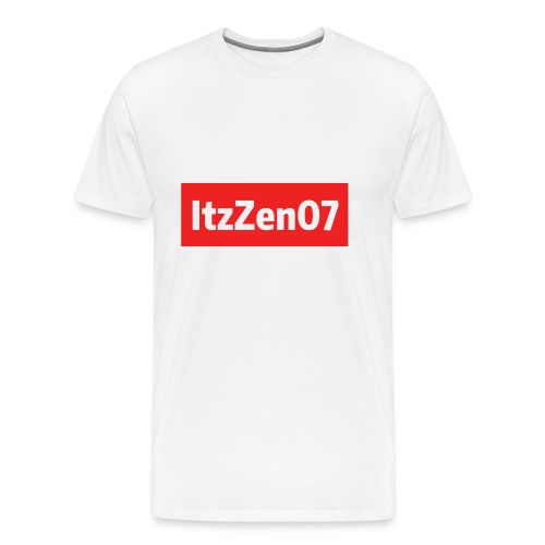 ItzZen07 Red Logo - Men's Premium T-Shirt