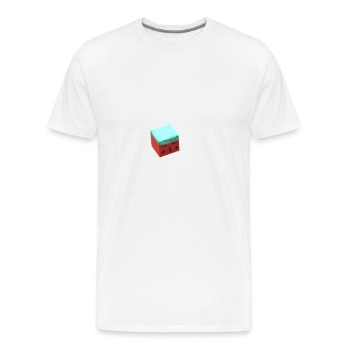 cubeboy - Men's Premium T-Shirt
