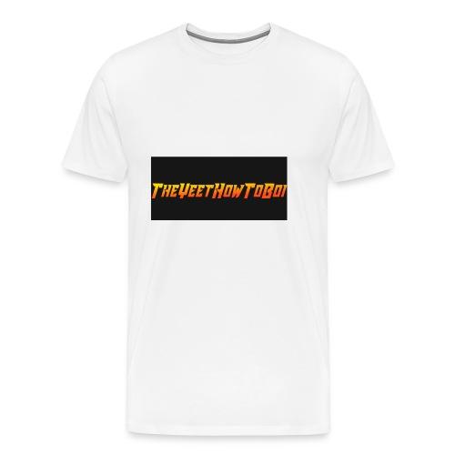 TheYeetHowToBoi Logo - Men's Premium T-Shirt