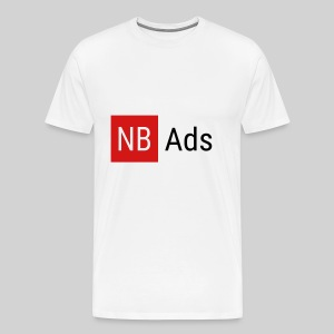 Nothing But Ads Logo - Men's Premium T-Shirt